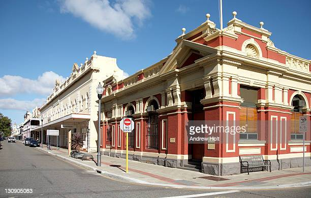Old colonial buildings in Fremantle, Perth