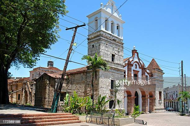 Old Colonial Church in Santo Domingo