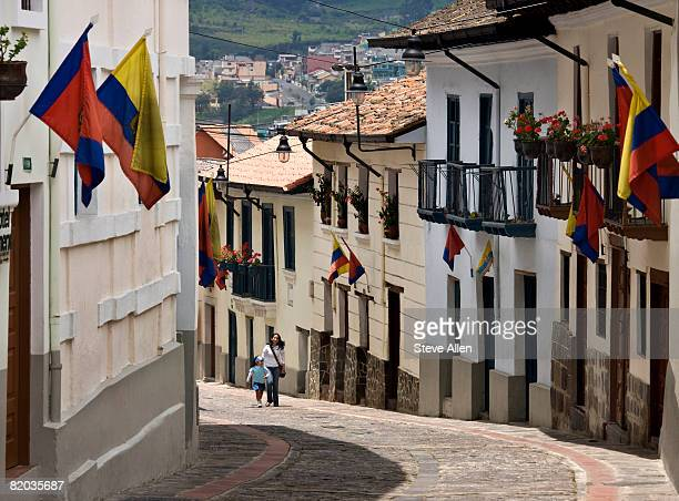 Old colonial street of Calle Ronda