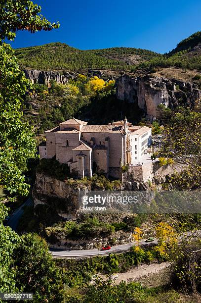 Old convent of Saint Paul at the old town of Cuenca