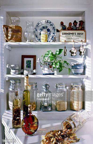 Old country style kitchen pantry area