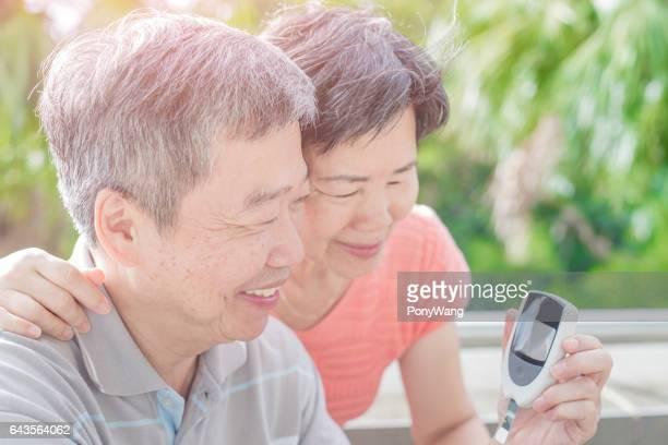 prévention du vieux couple du diabète