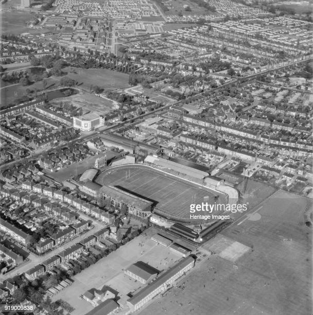 Old Craven Park, Hull, East Riding of Yorkshire, 1970. The former home of Hull Kingston Rovers Rugby League club. It was in use between 1922 and...