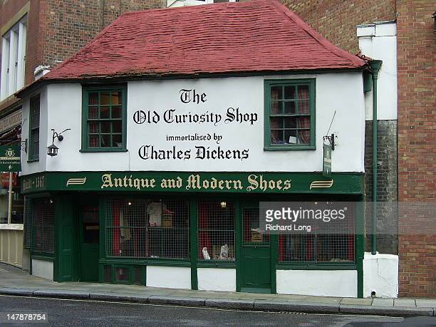 Old Curiosity Shop, as immortalised by Charles Dickens, August 2006.