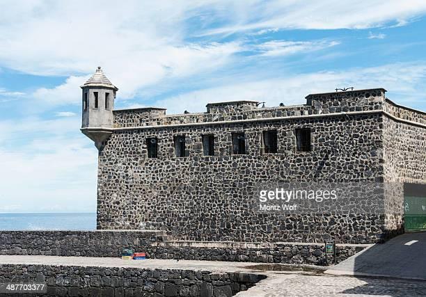 Old defense walls, Puerto de la Cruz, Tenerife, Canary Islands, Spain