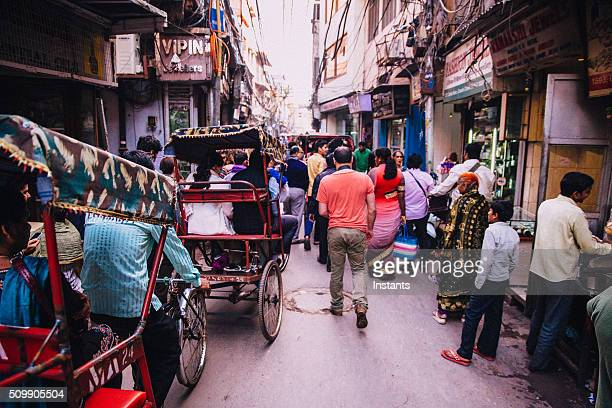 Old Delhi scene
