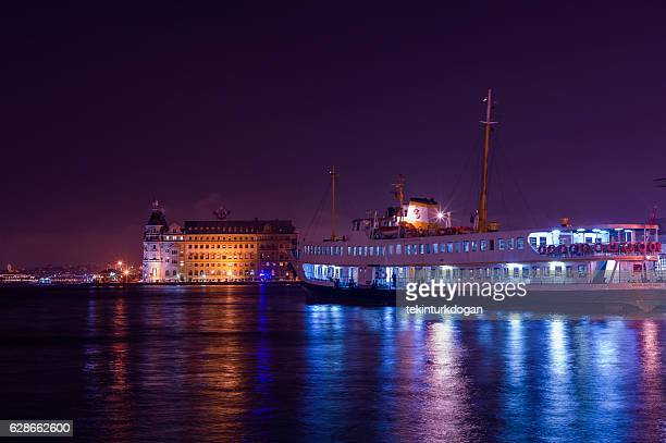 old demolished haydarpasa train station at kadikoy istanbul turkey - haydarpasa stock photos and pictures