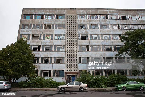 Old derelict building in East Berlin