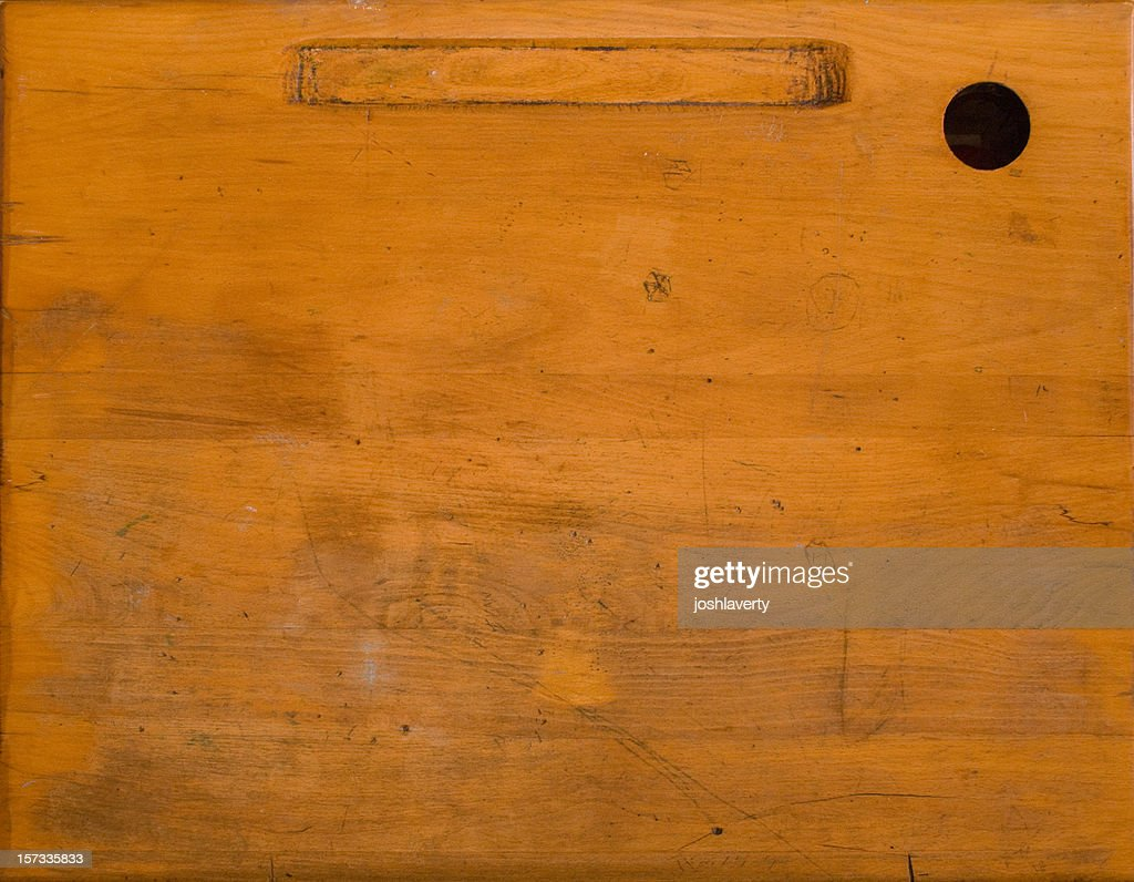 old desk surface : Stock Photo