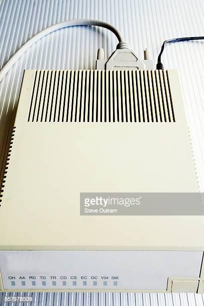 Old dial up internet modem
