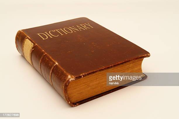 old dictionary - dictionary stock pictures, royalty-free photos & images