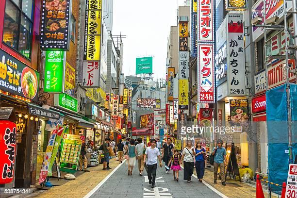 旧地区、新宿
