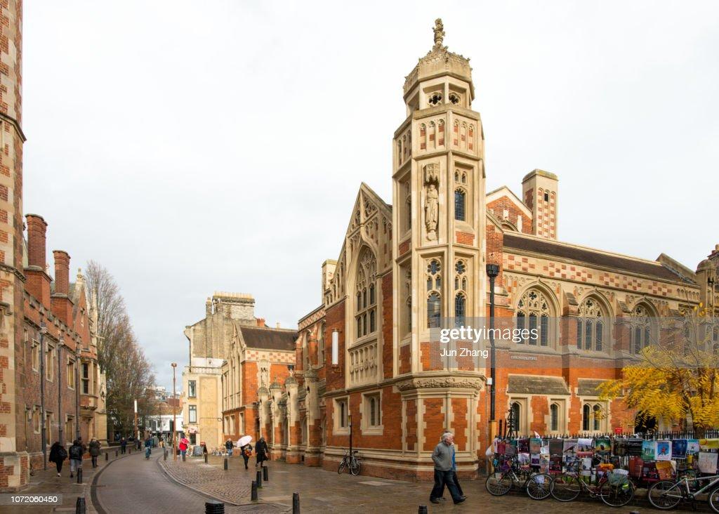 Old Divinity School of Cambridge University : Stock Photo