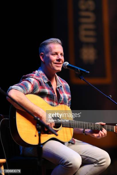 Old Dominion band member Trevor Rosen performs at the Ordway Performing Arts Center during the CMA Songwriters Series on November 20 2019 in St Paul...