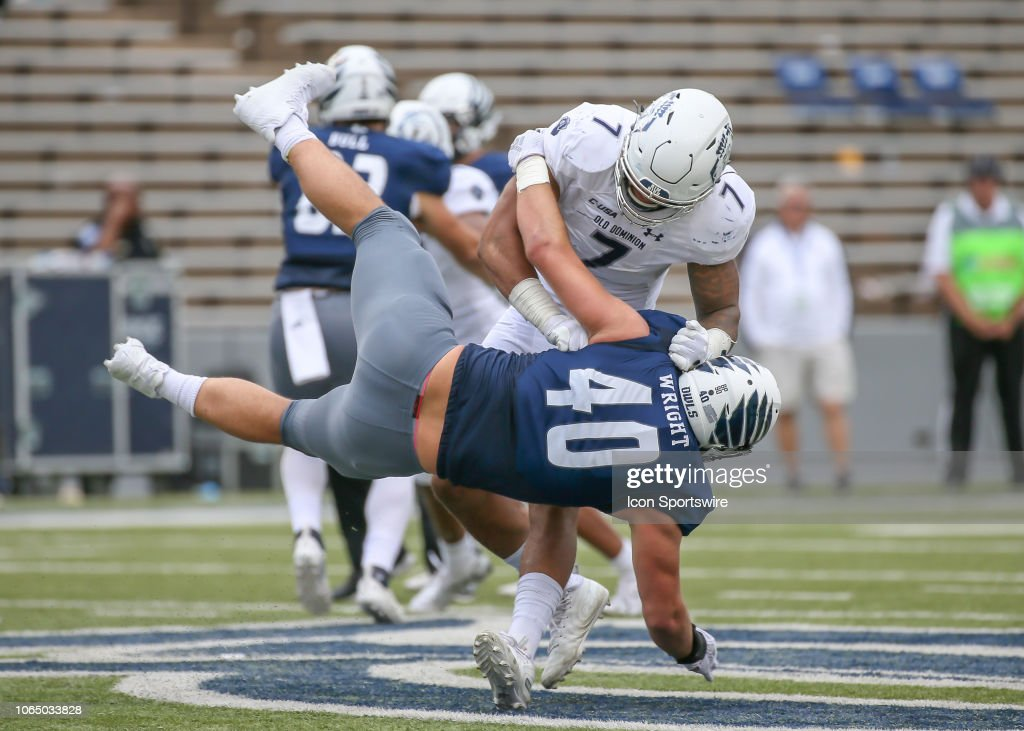 COLLEGE FOOTBALL: NOV 24 Old Dominion at Rice : News Photo