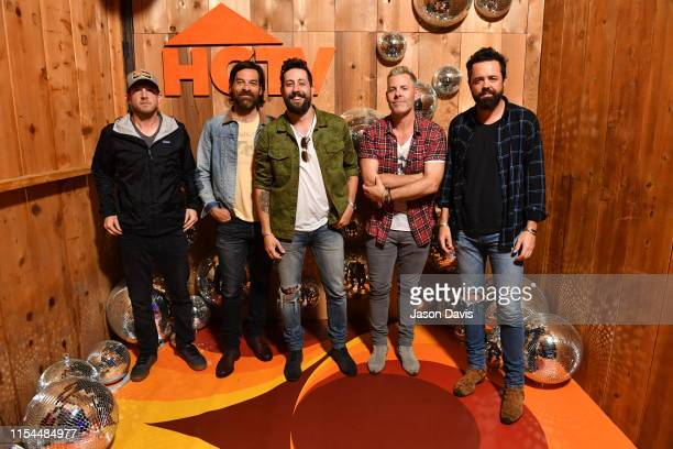 Old Dominion performs onstage in the HGTV Lodge at CMA Music Fest on June 07 2019 in Nashville Tennessee