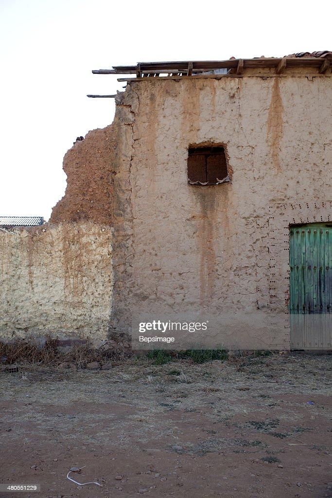 Antigua puerta : Foto de stock