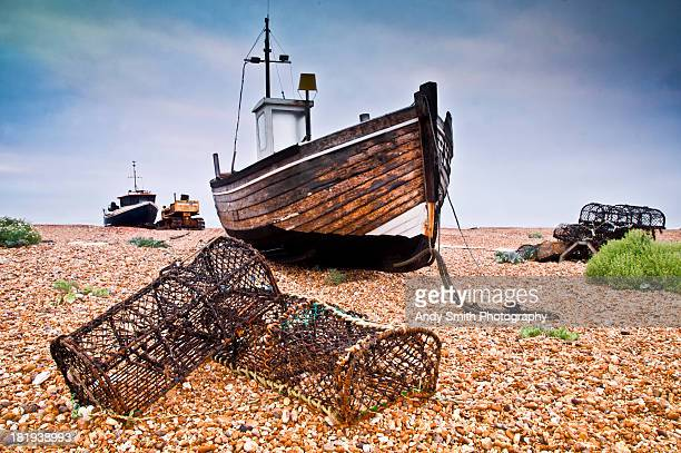 Old Dungeness fishing boat