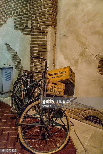 Bicicleta vieja holandés