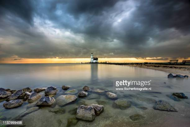 Old dutch lighthouse of Marken