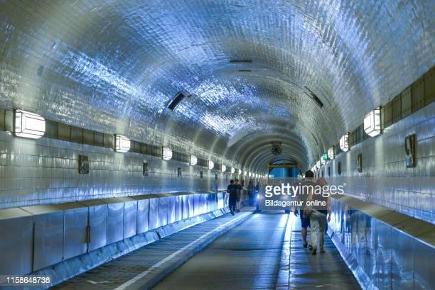 old Elbe tunnel Bei den St PauliSt Pauli Piers Landungsbrucken Hamburg Germany