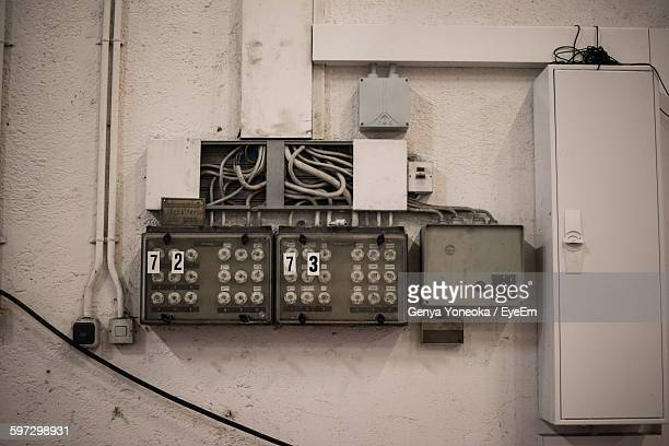 Old Electric Meter Box