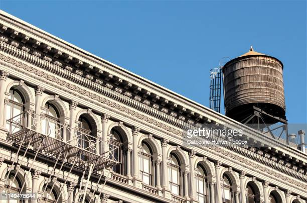 old & elegant - water tower storage tank stock pictures, royalty-free photos & images