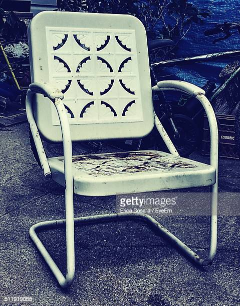 Old empty chair