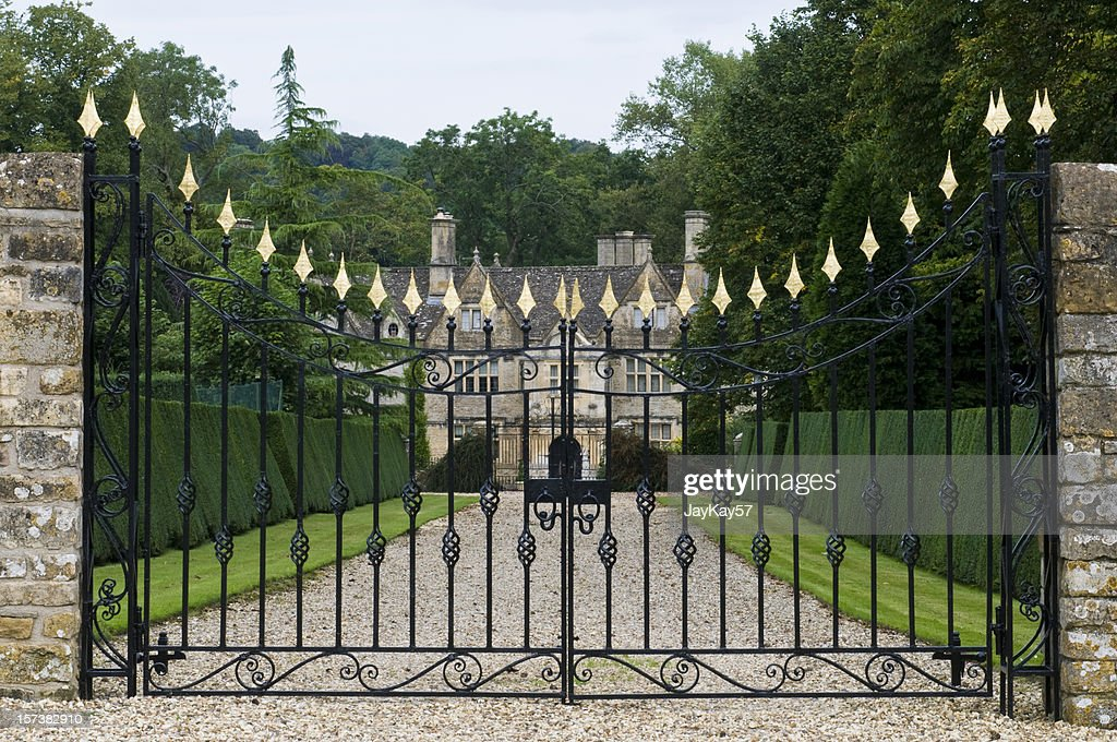 Old English Manor house : Stock Photo