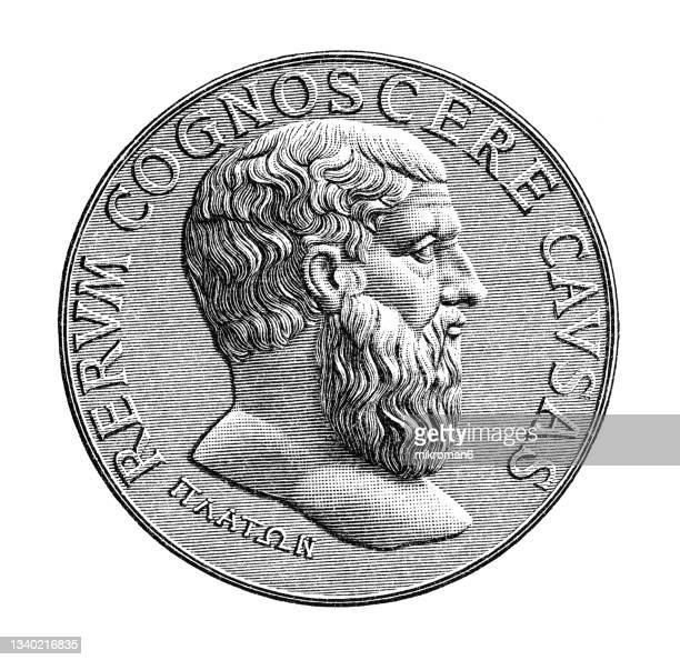 old engraved illustration of numismatics, medal - insignia stock pictures, royalty-free photos & images