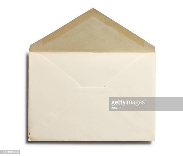 Alte Umschlag geöffnet