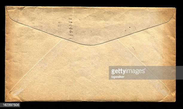 old envelope (xxl) - envelope stock pictures, royalty-free photos & images