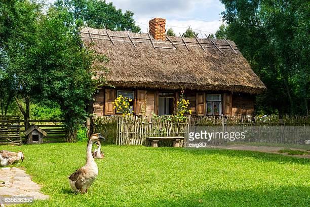Old farm house in Poland