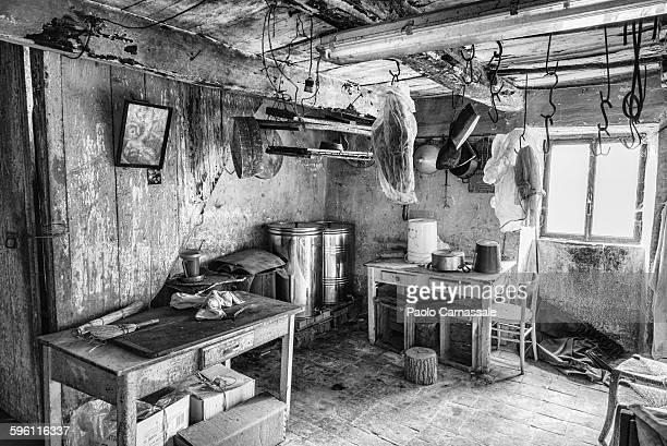 Old farm storage  room