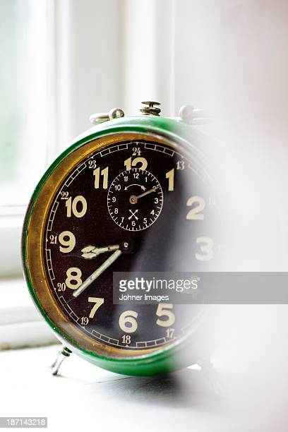 Old fashion alarm clock
