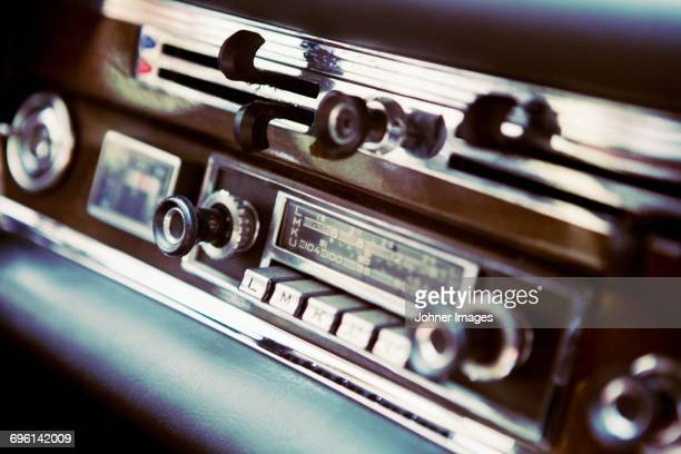 Old fashion car stereo