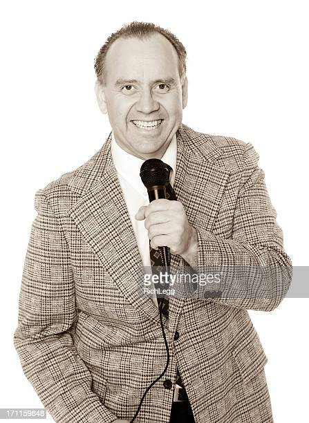 Old Fashioned Announcer
