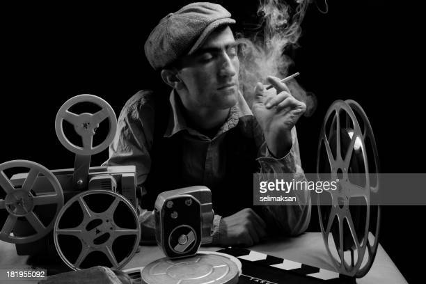 Old Fashioned Cinema Director