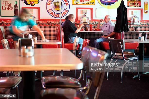 """vecchio stile diner"""" - terryfic3d foto e immagini stock"""