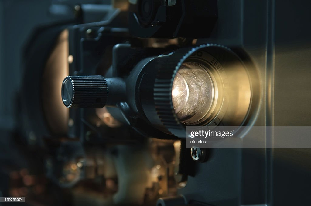 Old fashioned Film Projector : Stock Photo