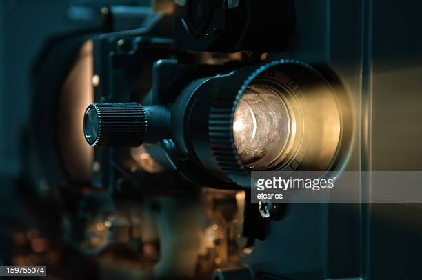 old fashioned film projector - performance stock pictures, royalty-free photos & images