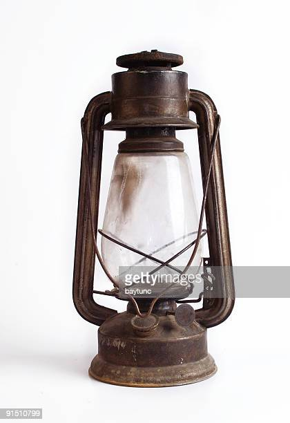 old fashioned gas lamp - lantern stock photos and pictures