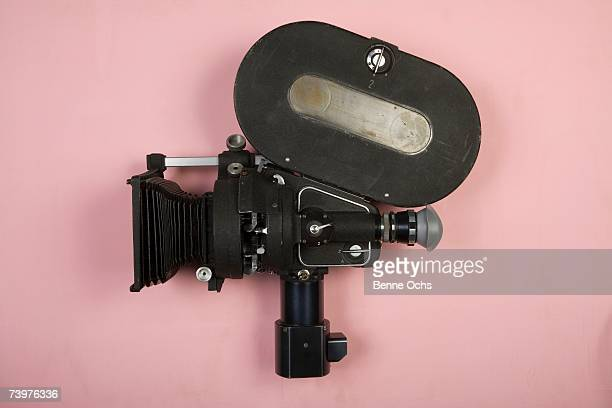 old fashioned movie camera - movie camera stock pictures, royalty-free photos & images