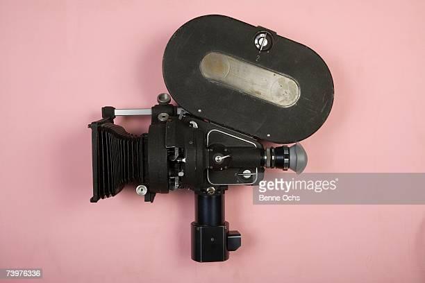 old fashioned movie camera - video stock-fotos und bilder