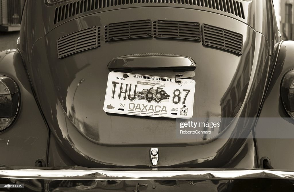Old Fashioned Volkswagen Beetle Oaxaca Mexico Black And White High Res Stock Photo Getty Images
