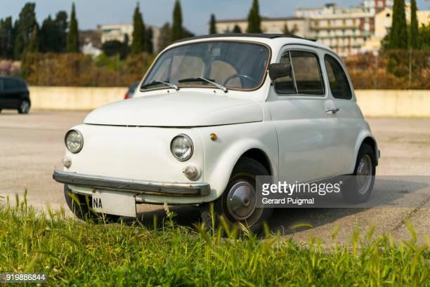 Old Fiat 500 car