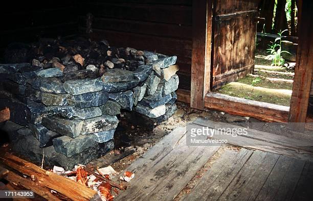 old finnish sauna