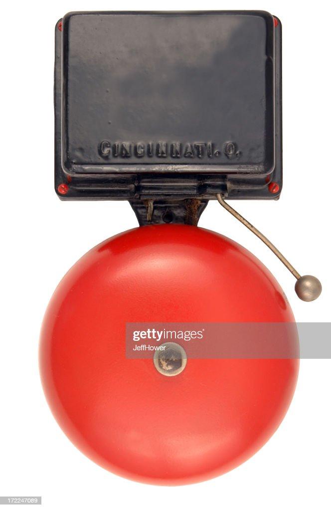 Campanello di allarme antincendio : Foto stock