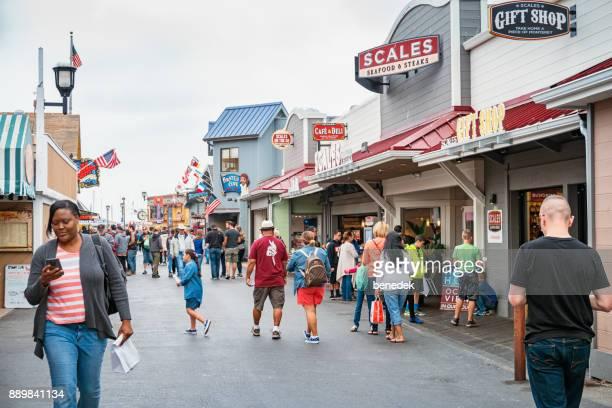 Old Fisherman's Wharf in Monterey California USA