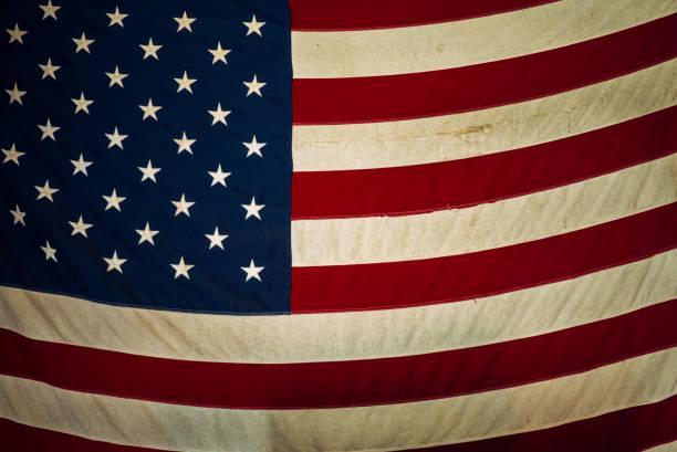 USA old flag